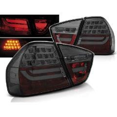 Focos / Pilotos traseros de LED Bmw E90 03.05-08.08 Ahumado Led Bar