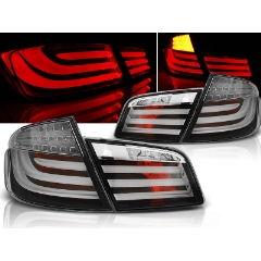 Focos / Pilotos traseros de LED Bmw F10 10-07.13 Negro Led Bar