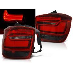 Focos / Pilotos traseros de LED Bmw F20 / F21 11-12.14 Rojo Ahumado Led Bar