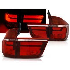 Focos / Pilotos traseros de LED Bmw X5 E70 03.07-05.10 Rojo/blanco Led