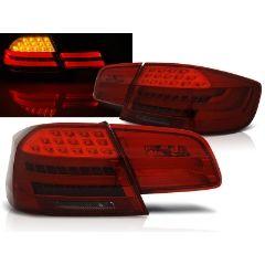 Focos / Pilotos traseros de LED Bmw E92 09.06-03.10 Rojo Ahumado Led Bar