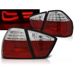 Focos / Pilotos traseros de LED Bmw E90 03.05-08.08 Rojo Blanco Led Bar