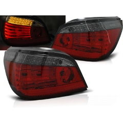Focos / Pilotos traseros de LED Bmw E60 07.03-07 Rojo Ahumado Intermitentes Dinamicos