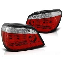 Focos / Pilotos traseros de LED Bmw E60 Lci 03.07-12.09 Rojos White Led-intermitente Dinamico