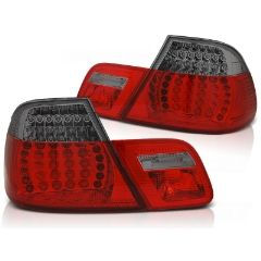 Focos / Pilotos traseros de LED Bmw E46 04.99-03.03 Coupe Rojos ahumados Led-intermitente Dinamico
