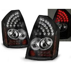 Focos / Pilotos traseros de LED Chrysler 300c 05-08 Negro Led