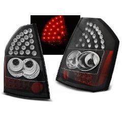 Focos / Pilotos traseros de LED Chrysler 300c/300 09-10 Negro Led