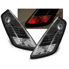 Focos / Pilotos traseros de LED Fiat Grande Punto 09.05-09 Negro Led