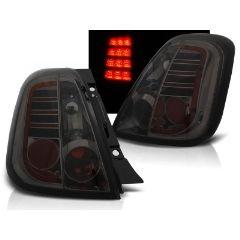 Focos / Pilotos traseros de LED Fiat 500 07- Ahumado Led
