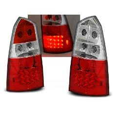 Focos / Pilotos traseros de LED Ford Focus Mk1 10.98-10.04 Kombi Rojo/blanco Led