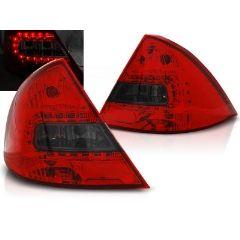 Focos / Pilotos traseros de LED Ford Mondeo Mk3 09.00-07 Rojo Ahumado Led