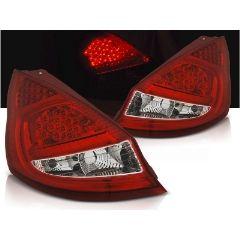 Focos / Pilotos traseros de LED Ford Fiesta Mk7 08-12 Hb Rojo Blanco Led