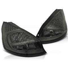Focos / Pilotos traseros de LED Ford Fiesta Mk7 08-12 Hb Ahumado Led