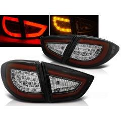 Focos / Pilotos traseros de LED Hyundai Ix35 09-09.13 Negro Led