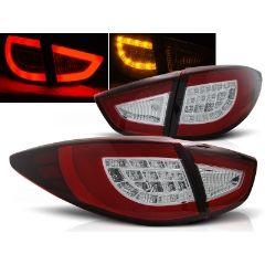 Focos / Pilotos traseros de LED Hyundai Ix35 09-09.13 Rojo/blanco Led