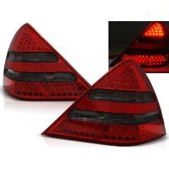 Focos / Pilotos traseros de LED Mercedes R170 Slk 04.96-04 Rojo Ahumado Led