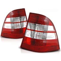 Focos / Pilotos traseros de LED Mercedes W163 Ml M-klasa 03.98-05 Rojo/blanco Led