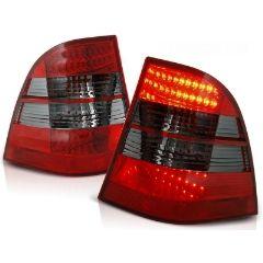 Focos / Pilotos traseros de LED Mercedes W163 Ml M-klasa 03.98-05 Rojo Ahumado Led