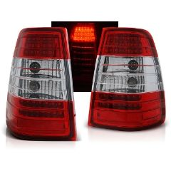 Focos / Pilotos traseros de LED Mercedes W124 E-klasa Kombi 09.85-95 Rojo/blanco Led