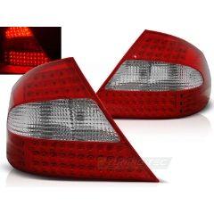 Focos / Pilotos traseros de LED Mercedes Clk W209 03-10 Rojo/blanco Led