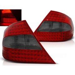 Focos / Pilotos traseros de LED Mercedes Clk W209 03-10 Rojo Ahumado Led