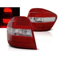 Focos / Pilotos traseros de LED Mercedes M-klasa W164 05-08 Rojo/blanco Led