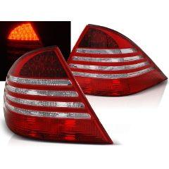 Focos / Pilotos traseros de LED Mercedes W220 S-klasa 09.98-05.05 Rojo/blanco Led
