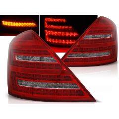 Focos / Pilotos traseros de LED Mercedes W221 S-klasa 05-09 Rojo/blanco Led