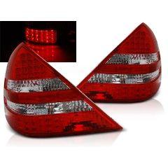 Focos / Pilotos traseros de LED Mercedes R170 Slk 04.96-04 Rojo/blanco Led