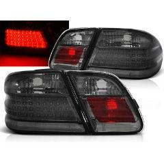 Focos / Pilotos traseros de LED Mercedes W210 95-03.02 Ahumado Led
