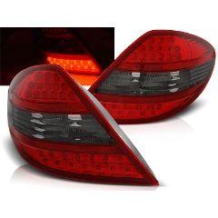 Focos / Pilotos traseros de LED Mercedes R171 Slk 04-11 Rojo Ahumado Led