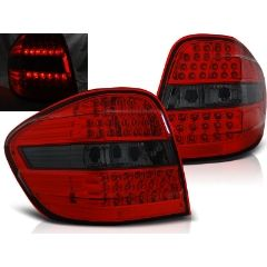 Focos / Pilotos traseros de LED Mercedes M-klasa W164 05-08 Rojo Ahumado Led