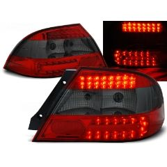 Focos / Pilotos traseros de LED Mitsubishi Lancer 7 Sedan 04-07 Rojo Ahumado Led