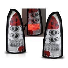 Focos / Pilotos traseros de LED Opel Astra G 09.97-02.04 Kombi Cromado Led