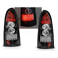 Focos / Pilotos traseros de LED Opel Astra G 09.97-02.04 Kombi Negro Led
