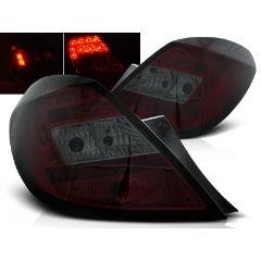 Focos / Pilotos traseros de LED Opel Corsa D 5d 04.06- Rojo Ahumado Led