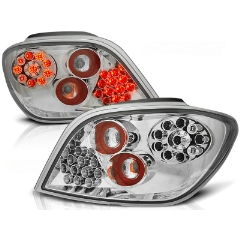 Focos / Pilotos traseros de LED Peugeot 307 04.01-07 Cromado Led