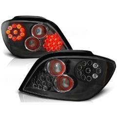 Focos / Pilotos traseros de LED Peugeot 307 04.01-07 Negro Led