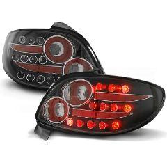 Focos / Pilotos traseros de LED Peugeot 206 10.98- Negro Led