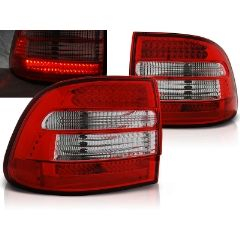 Focos / Pilotos traseros de LED Porsche Cayenne 02-06 Rojo/blanco Led