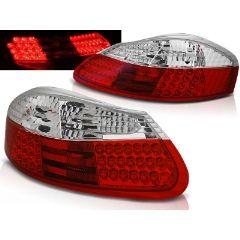 Focos / Pilotos traseros de LED Porsche Boxster 96-04 Rojo/blanco Led