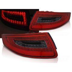 Focos / Pilotos traseros de LED Porsche 911 997 04-09 Rojo Ahumado Led