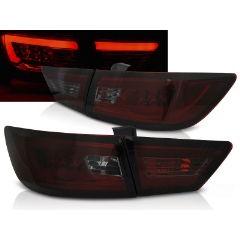 Focos / Pilotos traseros de LED Renault Clio Iv 13- Hatchback Led Bar Rojo Ahumado
