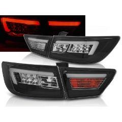 Focos / Pilotos traseros de LED Renault Clio Iv 13- Hatchback Led Bar Negro