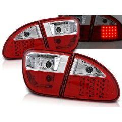 Focos / Pilotos traseros de LED Seat Leon 04.99-08.04 Rojo/blanco Led