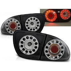 Focos / Pilotos traseros de LED Seat Leon 04.99-08.04 Negro Led