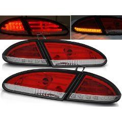 Focos / Pilotos traseros de LED Seat Leon 06.05-09 Rojo/blanco Led