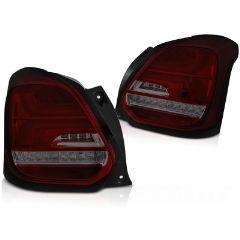 Focos / Pilotos traseros de LED Suzuki Swift Vi 17- Rojos ahumados Led-intermitente Dinamico