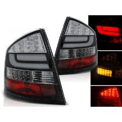 Focos / Pilotos traseros de LED Skoda Octavia Ii Sedan 03.04- Negro Led Bar