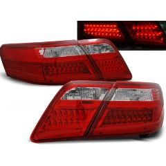 Focos / Pilotos traseros de LED Toyota Camry 6 Xv40 06-09 Rojo/blanco Led